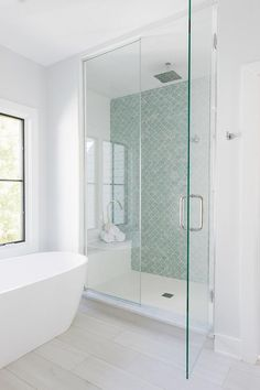 Hexagon White Matte Shower tile Cheap timeless and it goes with any other type o., Hexagon White Matte Shower tile Cheap timeless and it goes with any other type of tile Hexagon White Matte floor tile Bathroom Renos, Bathroom Renovations, Bathroom Flooring, Bathroom Tubs, Bathroom Showers, Tile Bathrooms, Wood Floor Bathroom, Bathroom Layout, Dream Bathrooms