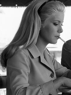 "Catherine Deneuve. ""I never hoped that both my children would become actors. I expected them to do somethin else"" - Catherine Deneuve"