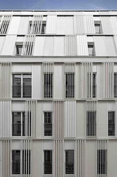 Gallery of Housing Units Castagnary / Dietmar Feichtinger Architectes - 4