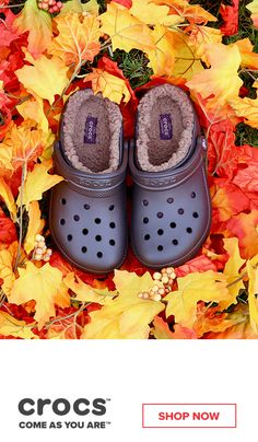 Stay cozy this fall with our fuzz lined collection from Crocs. Make your feet happy and warm with our clogs, boots, and other shoes. Cute Shoes, Me Too Shoes, Fuzzy Crocs, Wedge Shoes, Shoes Sandals, Shoes Sneakers, Crocs Shoes, Shoe Closet, Shoe Boots