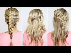 DIY | 4 basic braids - Twist Me PrettyTwist Me Pretty