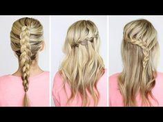 DIY | 4 basic braids - Twist Me PrettyTwist Me Pretty