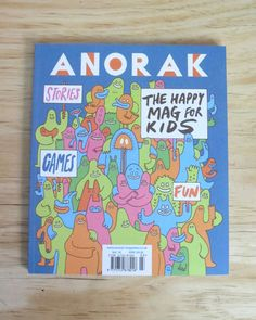 interview with the parent duo who publish the rad British kids' magazine Anorak.