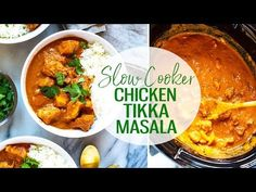 ThisSlow Cooker Chicken Tikka Masala is a delicious, healthy way to enjoy Indian cuisine, and it cooks all day on low for an easy, tasty curry experience!