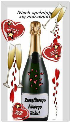 Happy New Year, Merry Christmas, Bottle, Holiday, Pavlova, Frases, Happy Birthday Pics, Text Posts, Happy New Year Photo