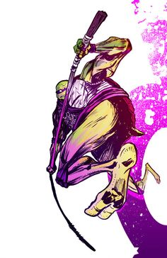 Teenage Mutant Ninja Turtles - Donatello by David Brame