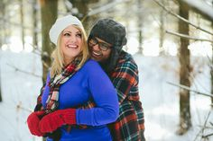 Winter Engagement- Spencer Combs Photography