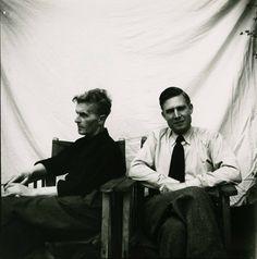 Wittgenstein with GH Von Wright, 1950
