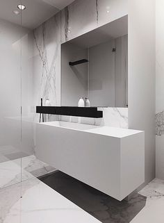 In need of inspirations for you next interior design project? Find more luxuriuous marble bathroom designs at http://www.maisonvalentina.net/