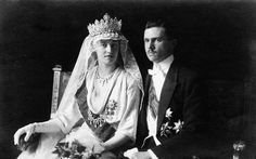 6 November 1919 Charlotte Grand Duchess of Luxembourg married Prince Felix of Bourbon-Parme