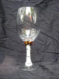 Custom Wine Glasses by WhipKord on Etsy