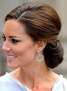 Hairstyle For Wedding Pleasing Kate Middleton Wedding Hair Up Do  Chignons  Pinterest  Kate