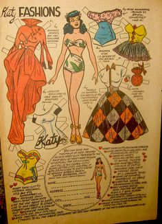 Katy Keene Paper Doll | Flickr - Photo Sharing!