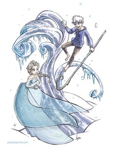 Elsa and Jack!