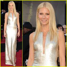 Gwyneth Paltrow 2011 Oscar Calvin Klein gown always classic yet subtly stunning