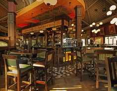 Mahony and Sons in Stamps Landing, Vancouver, BC ~ nice place, loved the interior