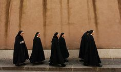 Nuns in Vatican City, Rome, Italy