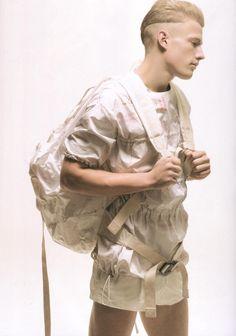 "verluste:    DAZED & CONFUSEDMay 2008 ""SOAR"" clothes by Raf Simons"