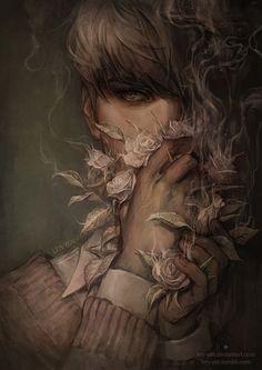 tumblr ||drawcrowd ||artstation || behance || facebook|| instagram quick one for april. ---------- (c) len-yan