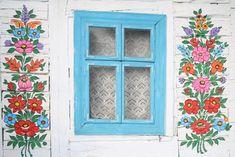 Resultado de imagen para casas floreadas de polonia