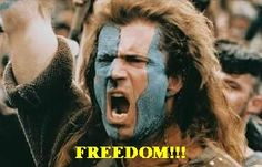 Inspirational 'Braveheart' Movie Quotes and Freedom Speech