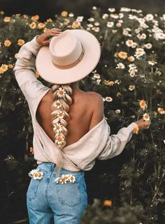 Panama Hat, Image, Collection, Blondes, Hats, Fashion, Beautiful Flowers, Bonito, Moda