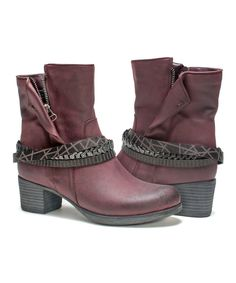 This Eggplant Laney Boot - Women by MUK LUKS is perfect! #zulilyfinds