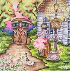 Lindo como sempre !!!!!! @Regrann from @bragasacha  #coloring #coloringbook #colors #oldpost #romanticcountry #art #littleduck #fabercastellpolychromos #prismacolor #artecomoterapia #coloring #instacoloring #colorido #Regrann