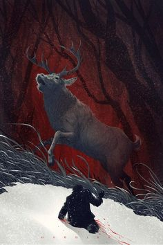 Stag of Staghorn Mountains