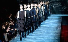 Fashion Week New York Herbst/Winter 2015/16 - Marc Jacobs: Die Fashion Show von Marc Jacobs während der Fashion Week New York.
