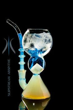 Slipstream® Absinthe Glass Fountain Pipe *no Spoon Needed* Absinthe Drinker, Skinny Margarita, Cocktails, Cocktail Recipes, Green Fairy, Glass Pipes, Lost Art, Drinking Glass, Wine Decanter