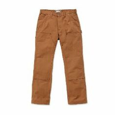 EB136 Duck Canvas Double Front Trousers from Carhartt, 4 Colours including Moss