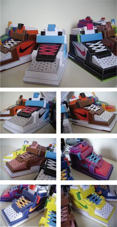 AIR CUBE FORCE 1 by Filippo Perin, via Behance