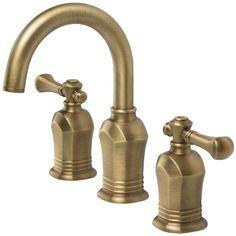 Pegasus 67389-8024H Verdanza Series 8-Inch Widespread 2-Handle High Arc Bathroom Faucet in Antique Brass Pegasus http://www.amazon.com/dp/B0089JUZSQ/ref=cm_sw_r_pi_dp_grhIvb02ZDT8H