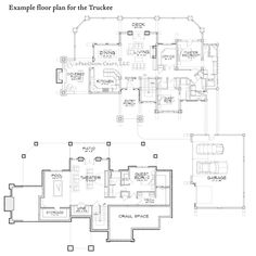 Truckee Floor Plan Example