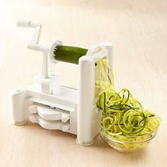 Shop paderno spiralizer from Williams Sonoma. Our expertly crafted collections offer a wide of range of cooking tools and kitchen appliances, including a variety of paderno spiralizer. Spiral Vegetable Slicer, Vegetable Noodles, Vegetable Spiralizer, Veggie Pasta, Pesto Pasta, Zucchini Spaghetti, Vegetable Carving, Pasta Alfredo, Must Have Kitchen Gadgets