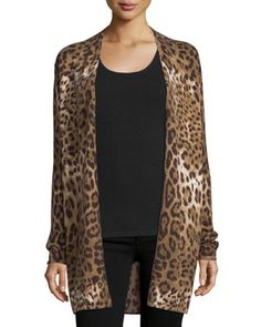 Leopard-Print+Open+Cashmere+Cardigan+by+Neiman+Marcus+Cashmere+Collection+at+Neiman+Marcus.