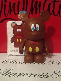 Disney Vinylmation Holiday 2 Chocolate Bunny Easter with Card RARE SOLDOUT | eBay
