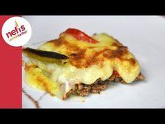 Püreli Tepsi Kebabı Tarifi   Nefis Yemek Tarifleri - YouTube