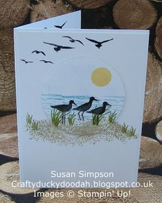 Craftyduckydoodah!, High Tide, Stampin' Up! UK Independent Demonstrator Susan Simpson, Supplies available 24/7 from my online store,
