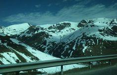 Between sun and snow in Pas de la Casa in the Pyrenees.