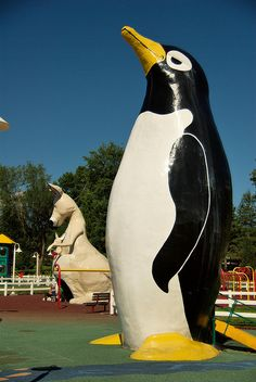 Penguin Park, Kansas City, MO.  Spent so much time here as a kid.  I can't wait to take Evie