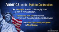 Whom God Means to Destroy, He First Makes Undiscerning – Christian Political News 2 Chronicles 7 14, Senior Communities, Pray For America, Self Destruction, Poetic Justice, Political Views, The Millions, Bad News, Morals