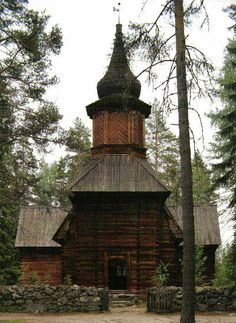 Pihlajaveden vanha erämaakirkko Church Architecture, Old Buildings, Cathedrals, Helsinki, Ark, Countryside, To Go, Ship, Mood