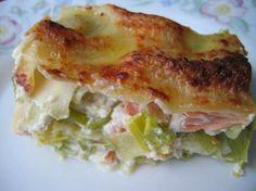 Lasagnes saumon et poireaux : la recette facile