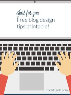 Free Printable: Blog Design Tips | Take your blog design to the next level with these tips, and a printable that will help you organize your design choices.