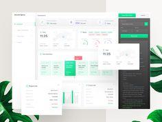 Descode Dashboard - UI / UX Design by Dejan Baric for Studio Star on Dribbble Dashboard Interface, Web Dashboard, Dashboard Design, Sales Dashboard, Interface Design, Design Thinking, Motion Design, Design Ios, Flat Design