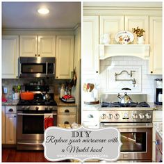 Replace your microwave with a DIY range hood