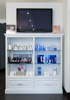 Product display at Avenue Plastic Surgery