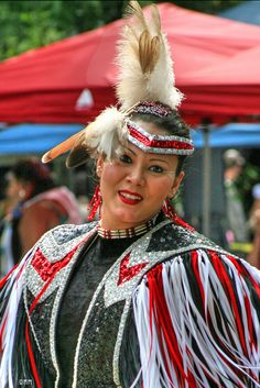 pow-wow dancer by Marcel Mason, via Flickr